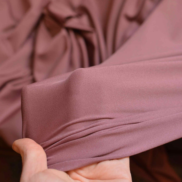 Umeboshi Plum - Recycled Polyester / Spandex Swimsuit Fabric - 1/2 yard
