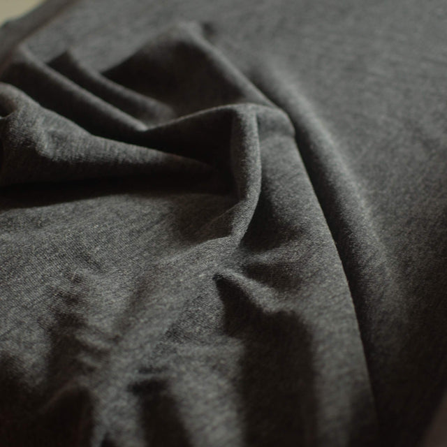 Charcoal Sweater Knit – 1/2 yard
