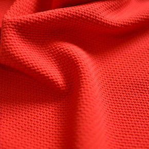 Cherry Red Liverpool Double Knit – 1/2 yard