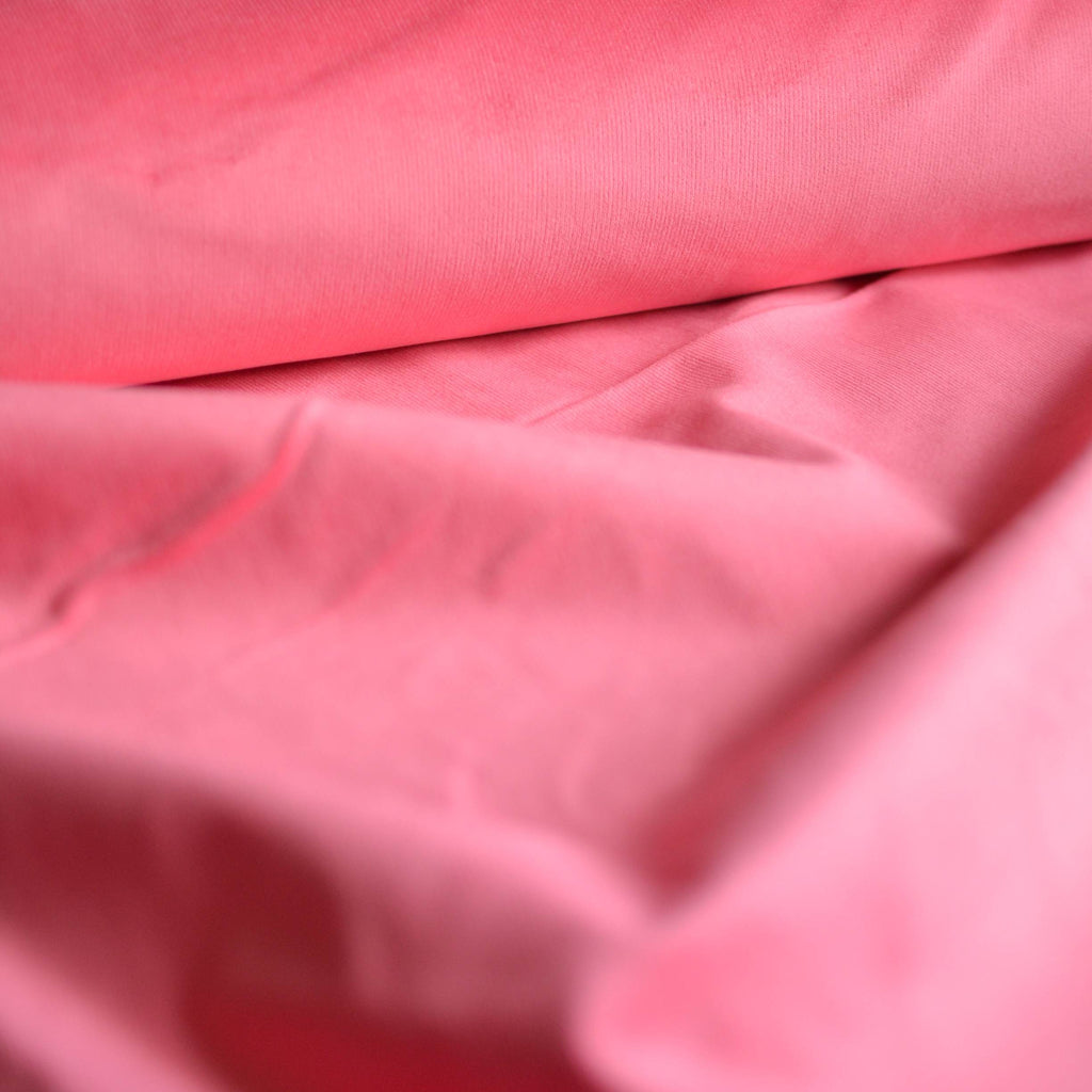 Flamingo Pink Stretch Corduroy – 1/2 yard