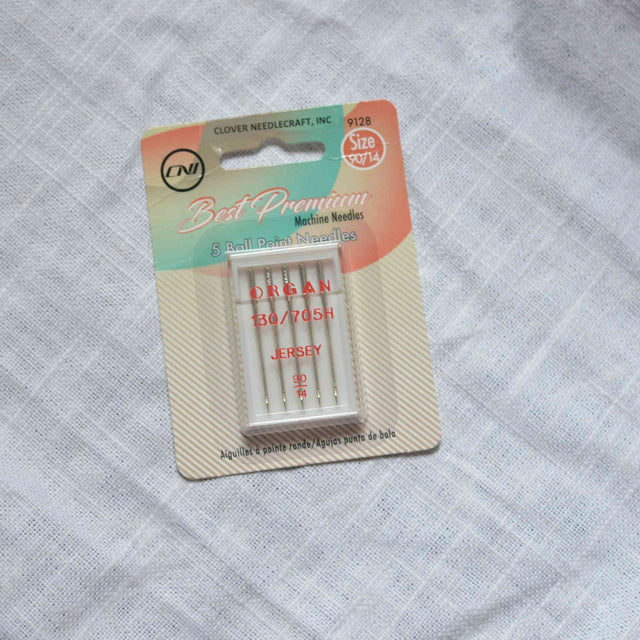CLOVER Ballpoint Needles -Size 90/14 - 5 count
