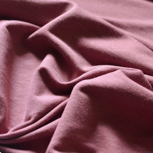 Tea Rose – Tencel™ & Organic Cotton French Terry – 1/2 yard