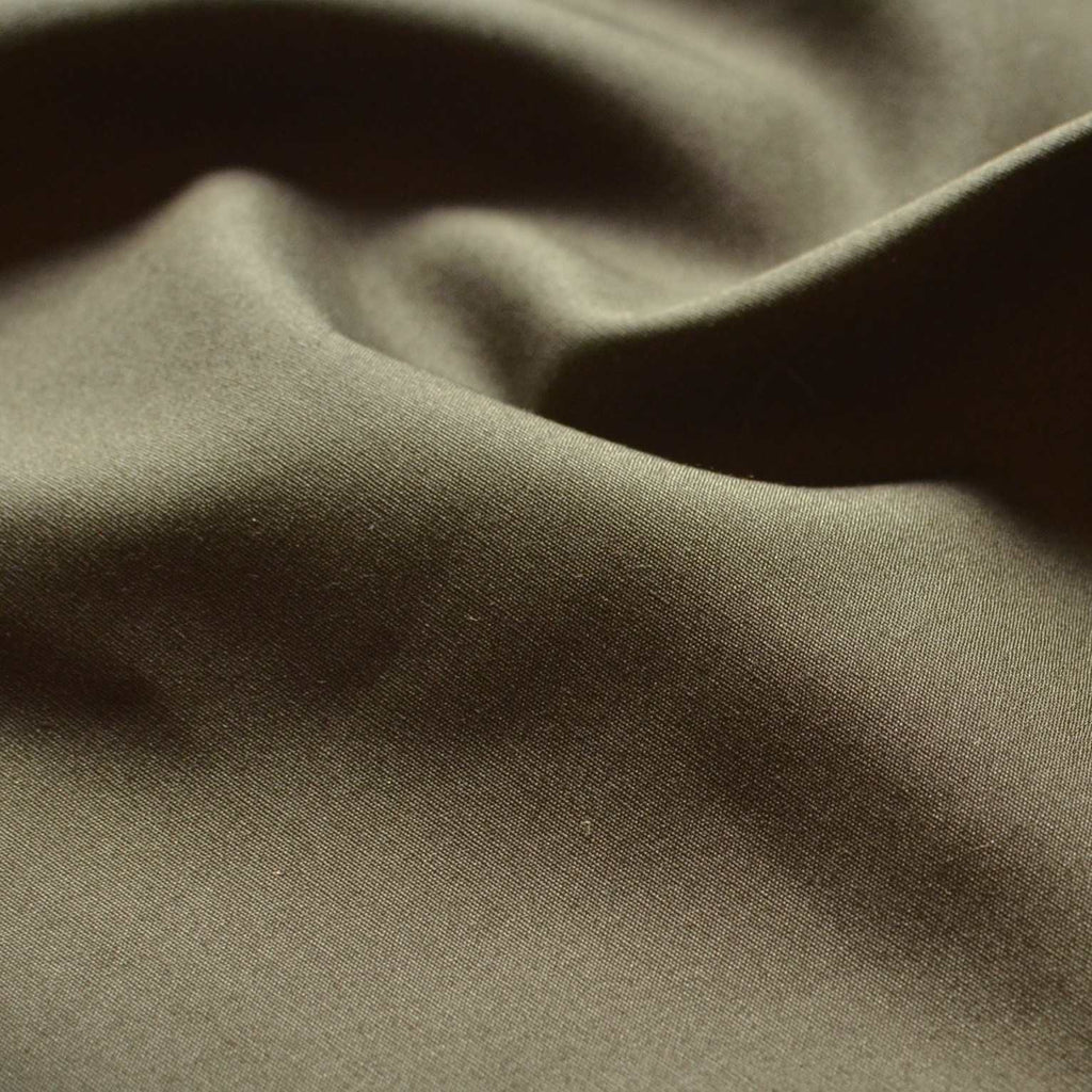 Olive Cotton Poplin   – 1/2 yard