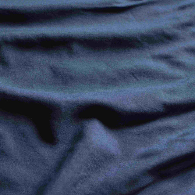 Muted Navy – Lightweight Lyocell Twill – 1/2 yard