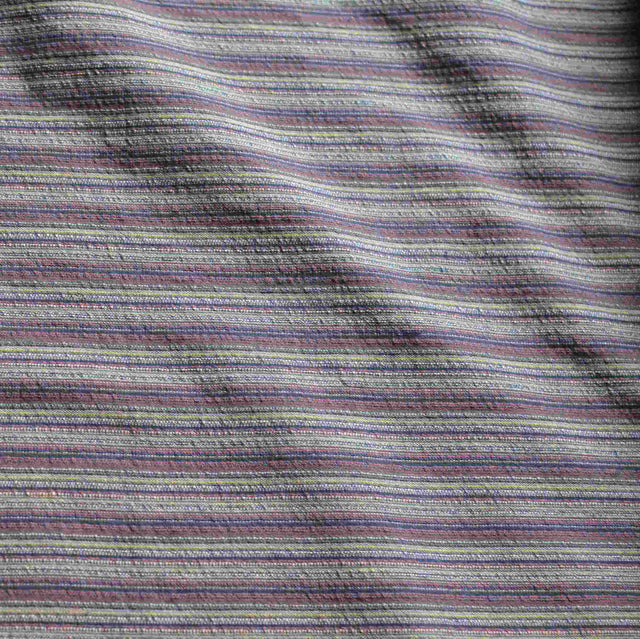 Muted Mauve Cotton Stripes   – 1/2 yard