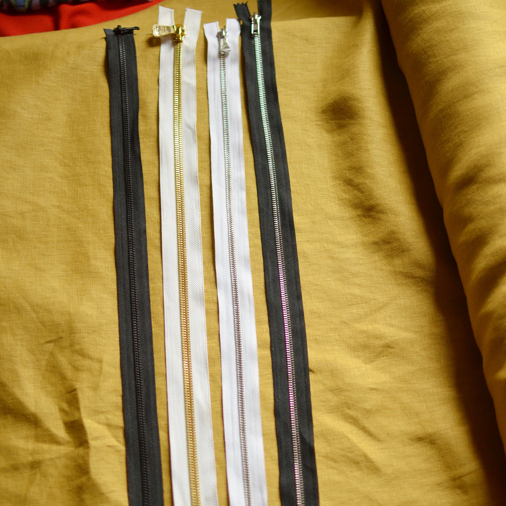 Long Deadstock Zippers - 1 piece