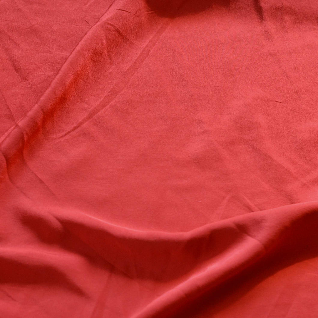 Strawberry Silk Crepe de Chine – 1/2 yard