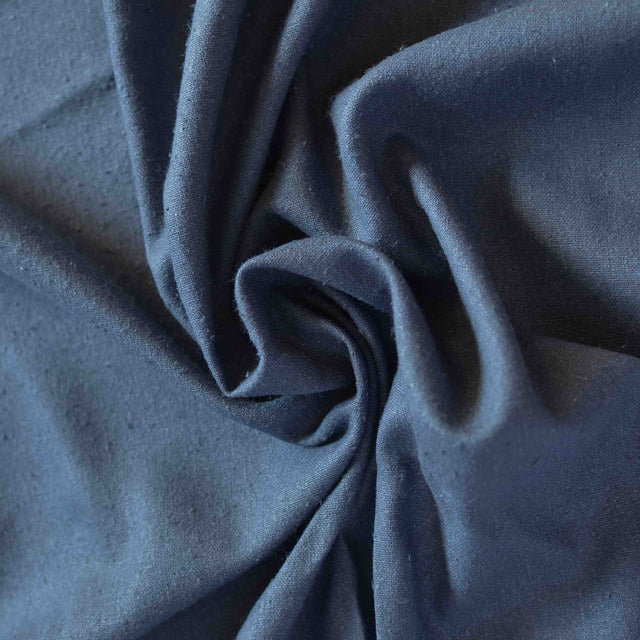 Graphite – Raw Silk Noil – 1/2 yard