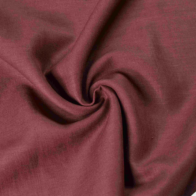 Rich Plum – Heavyweight Linen – 1/2 yard