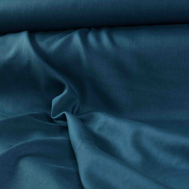 Cerulean – Heavyweight Linen – 1/2 yard