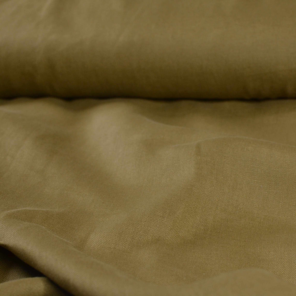 Olivewood – Heavyweight Linen – 1/2 yard