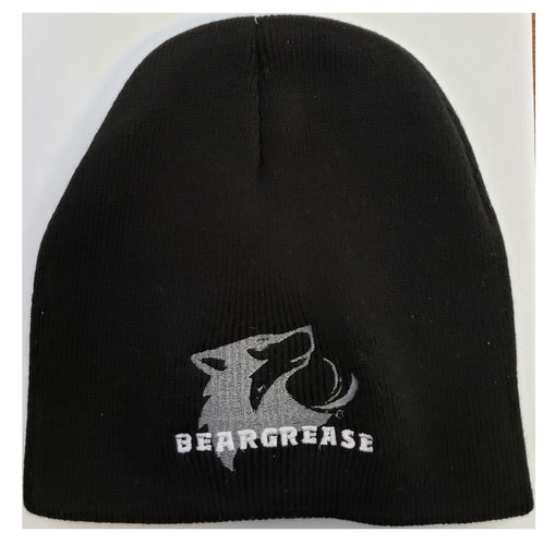 Beanie With Swoosh Logo - beargrease
