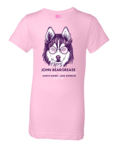Cool Dog Pink Kids Tee - beargrease