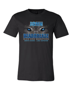 Husky Eyes Black Tee - beargrease