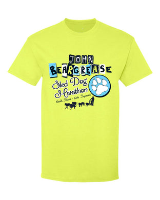 Pieces Safety Green Youth Tee - beargrease
