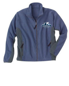 Beargrease Embroidered Logo Rivers End Ladies full zip Polar Fleece Jacket - beargrease