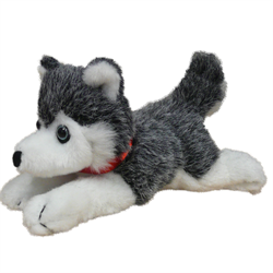"7"" FLOPPY GREY HUSKY - beargrease"