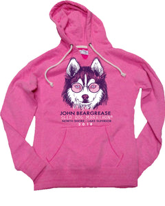 Cool Dog Pink Hood - beargrease