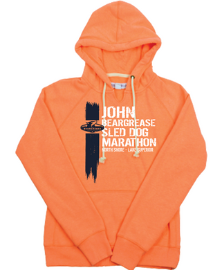Stroke Orange Hood - beargrease