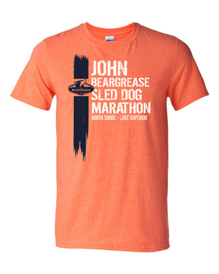 Stroke Orange Tee - beargrease