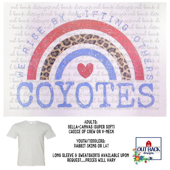 BORDEN COUNTY COYOTES--We Rise T-Shirt