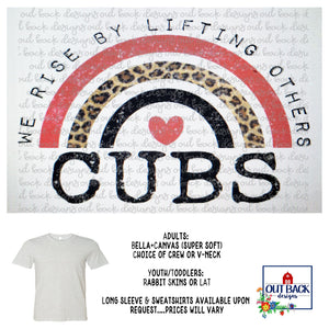 BROWNFIELD CUBS--We Rise T-Shirt