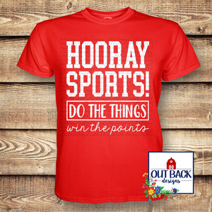 Hooray Sports Vinyl T-Shirt