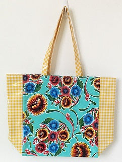 Oil Cloth Market Tote
