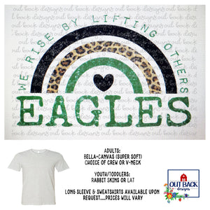 ROPES EAGLES--We Rise T-Shirt