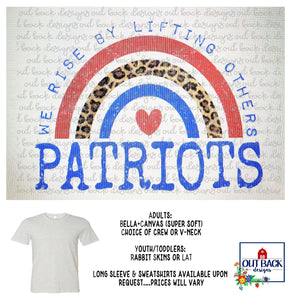 VALLEY PATRIOTS--We Rise T-Shirt