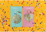 Confetti Acrylic Key Chains