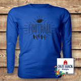 Football Mom Vinyl T-Shirt