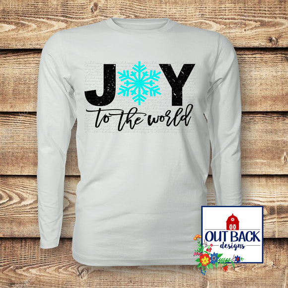 Joy to the World Vinyl T-Shirt