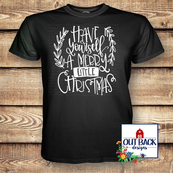 Do It Yourself Christmas Shirts.Have Yourself Vinyl T Shirt