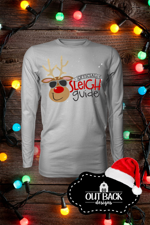 Kid's Official Sleigh Guide Vinyl T-Shirt