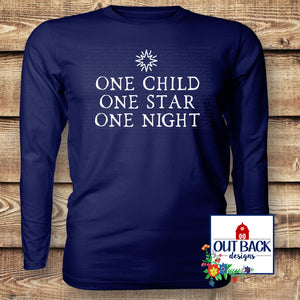 One Child Vinyl T-Shirt