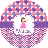 Kids Personalized Dinner Plate