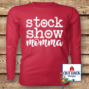 Stock Show Momma Vinyl T-Shirt