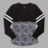Youth Patterned Monogrammed Pom Pom Jersey