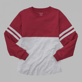 Youth Striped Monogrammed Pom Pom Jersey