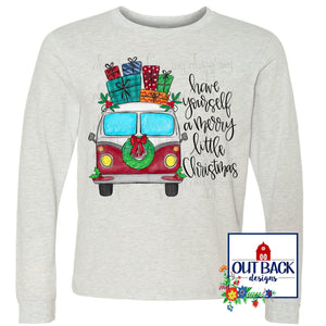 VW Van Merry Christmas T-Shirt