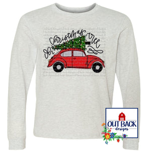 VW Bug Oh Christmas tree T-Shirt