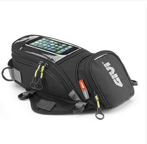 GIVI Motorcycle new fuel bag mobile phone navigation bag multifunctional small oil reservoir package magnetic fixed straps fixed
