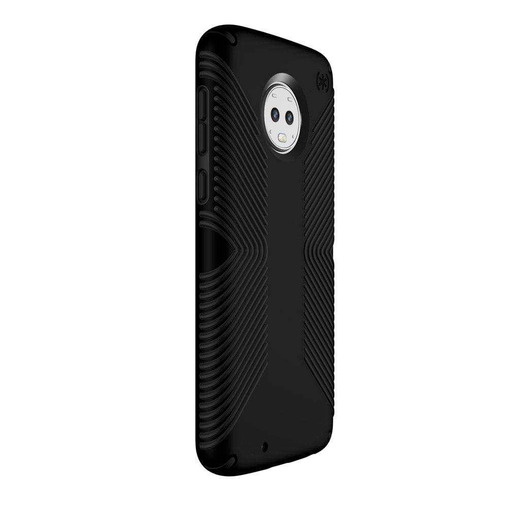 new product d2aa9 ca8a0 Speck - Presidio Grip Case for Motorola Moto G6 - Black