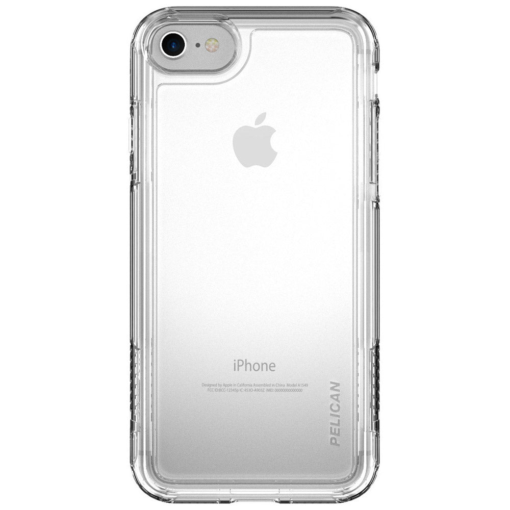 check out bdd7b bd2c1 APPLE IPHONE 6 / IPHONE 6S / IPHONE 7 PELICAN ADVENTURER SERIES CASE -  CLEAR AND CLEAR