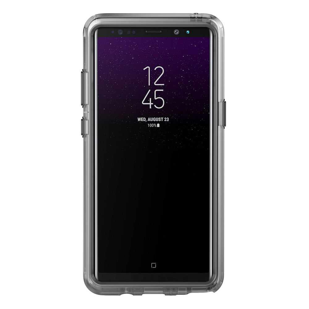 official photos ddb52 778b8 Pelican - Voyager Case for Samsung Galaxy Note 8 - Clear and Gray