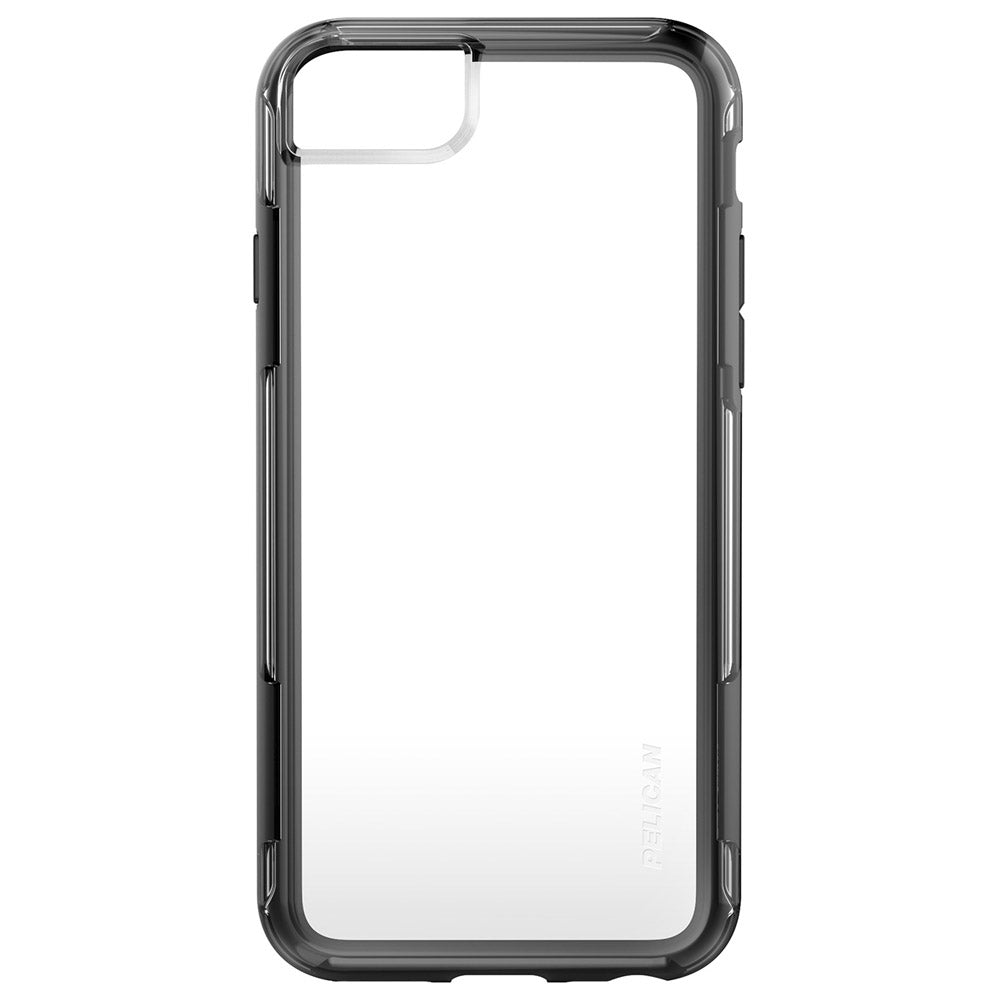 new arrival ba30a 89370 APPLE IPHONE 6 / IPHONE 6S / IPHONE 7 / IPHONE 8 PELICAN ADVENTURER SERIES  CASE - CLEAR AND BLACK