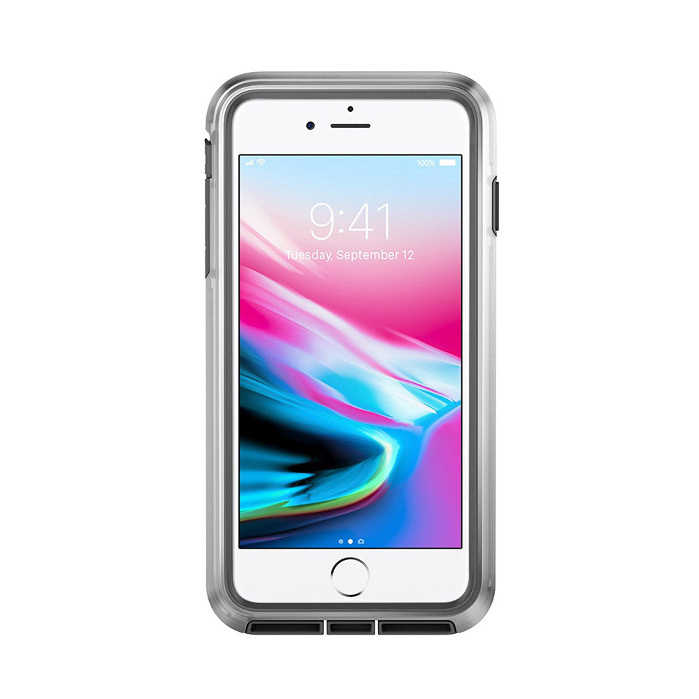 the best attitude 96f3d d7bc3 Pelican - Voyager Case for Apple iPhone 8 Plus / 7 Plus / 6s Plus / 6 Plus  - Clear and Gray
