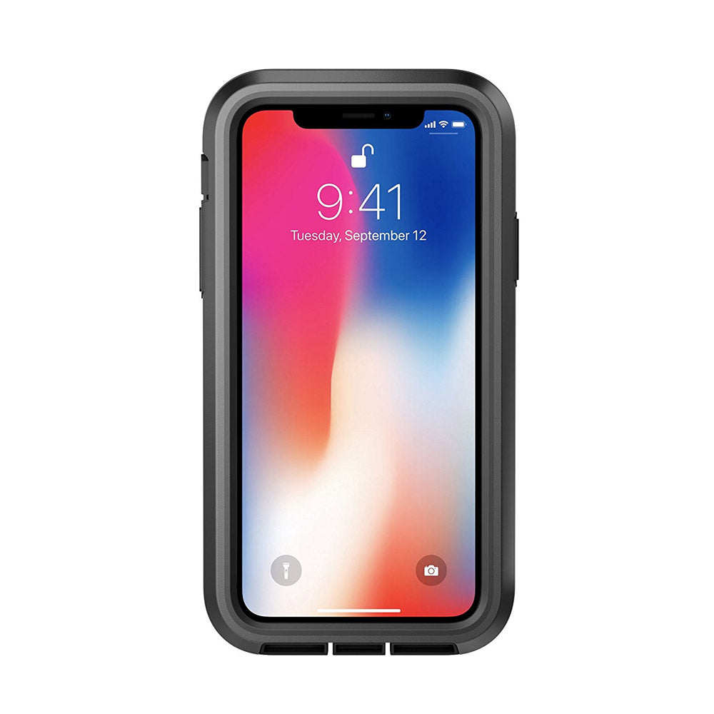 separation shoes eaa6e 4f8e7 APPLE IPHONE X PELICAN VOYAGER RUGGED CASE WITH KICKSTAND HOLSTER AND  SCREEN PROTECTOR - BLACK AND BLACK
