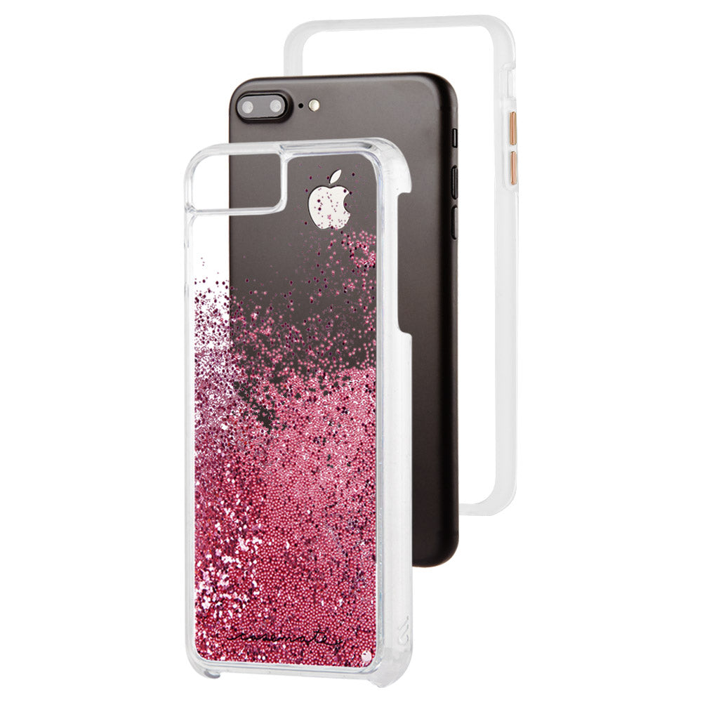 buy popular 90a4b d3dee Case-Mate - Waterfall Case for Apple iPhone 8 Plus / 7 Plus / 6s Plus / 6  Plus - Rose Gold